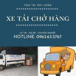 Dịch vụ taxi tải Phi Long tại xã văn Hoàng