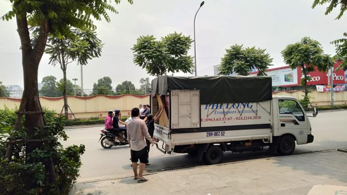Dịch vụ taxi tải Phi Long tại phường việt hưng