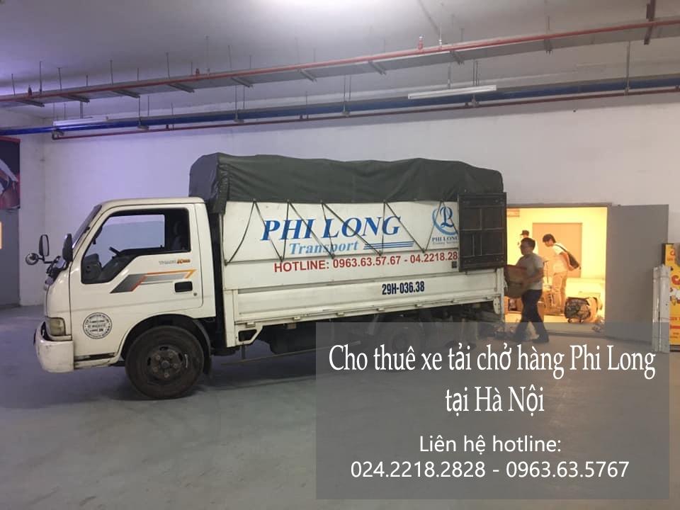 Dịch vụ taxi tải Phi Long tại xã tân xã