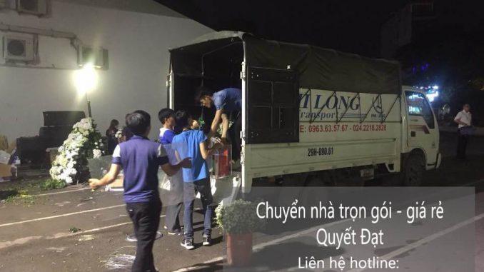 Dịch vụ taxi tải Phi Long tại đường Đồng Me