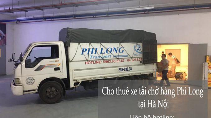 Dịch vụ taxi tải Phi Long tại phố Lê Quý Đôn