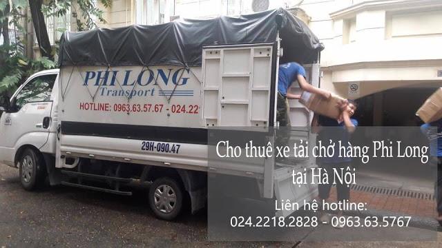 Dịch vụ taxi tải Phi long tại đường nam trung yên
