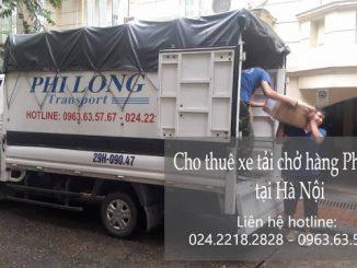 Dịch vụ taxi tải Phi Long tại đường vũ tông phan
