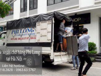 Dịch vụ taxi tải Phi Long tại đường dương văn bé