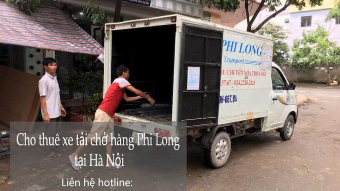 Dịch vụ chở hàng chất lượng Phi Long đường Thanh Am