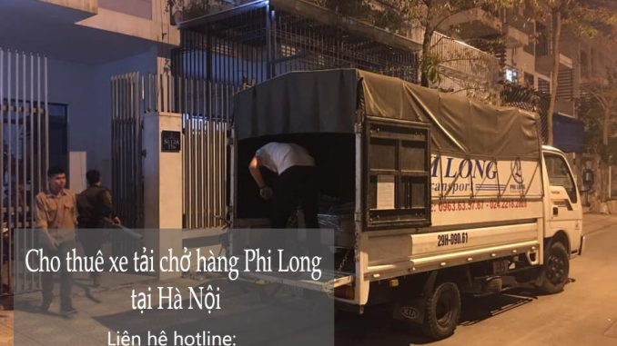 Dịch vụ taxi tải Phi Long tại đường Thọ Tháp
