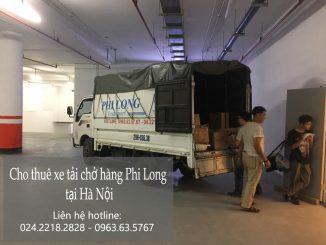 Dịch vụ taxi tải Phi Long tại đường đàm quang trung
