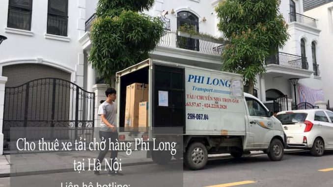Dịch vụ taxi tải Phi Long tại đường hoa lâm