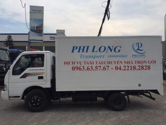 dịch vụ taxi tải giá rẻ phi long tại đường ngô viết thụ