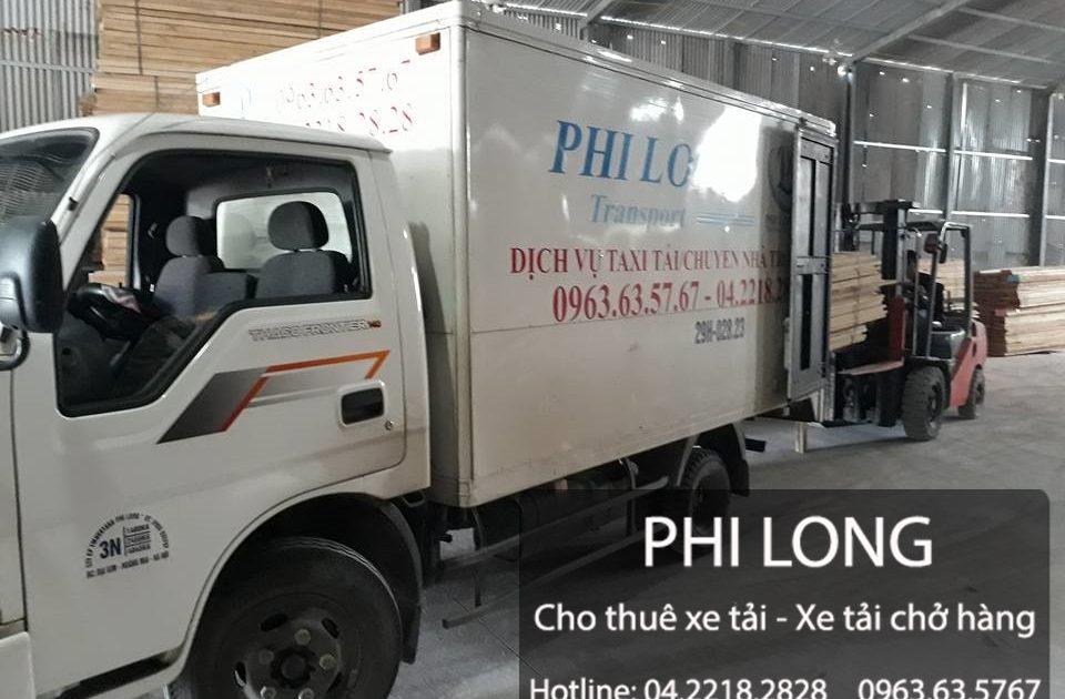 Phi Long hãng cho thuê xe tải giá rẻ uy tín số 1 tại Hà Nội đi Thái Nguyên.