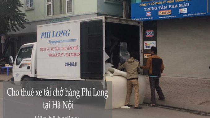 dịch vụ taxi tải tại hà nội Phi Long tại đường nam đuống