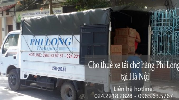 Công ty taxi tải Hà Nội tại đường Xuân Đỗ