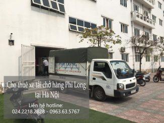 Thuê xe tải chở hàng giá rẻ tại Hà Nội