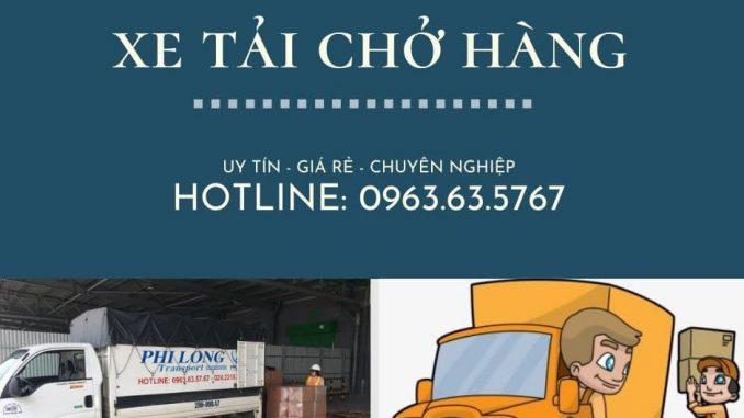 Dịch vụ thuê xe tải tại đường Thịnh Liệt đi Bắc Ninh