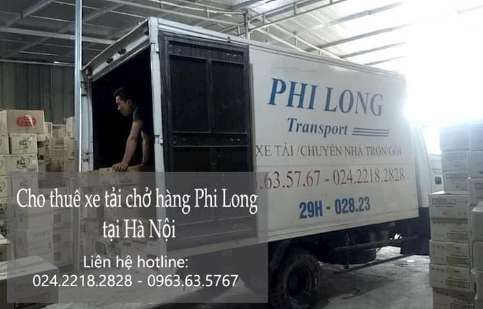Taxi tải giá rẻ phố Chân Cầm đi Hòa Bình