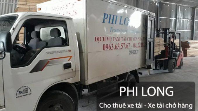 Dịch vụ cho thuê xe tải chở hàng tại huyện Phú Xuyên