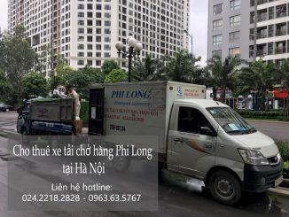 Vận tải Phi Long taxi tải giá rẻ nhất cho quý khách hàng tại quận Hoàng Mai và Ba Đình.