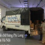 Taxi tải phi long từ đường Hồ Tùng Mậu đi Hải Phòng